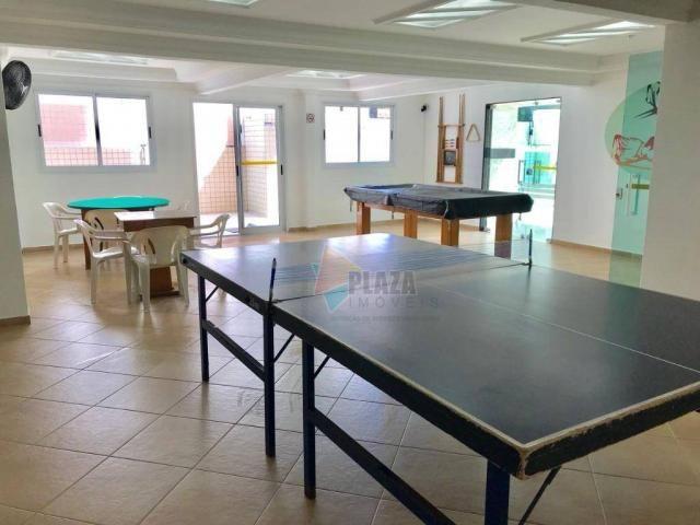 Apartamento para alugar, 82 m² por R$ 2.800,00/mês - Tupi - Praia Grande/SP - Foto 19
