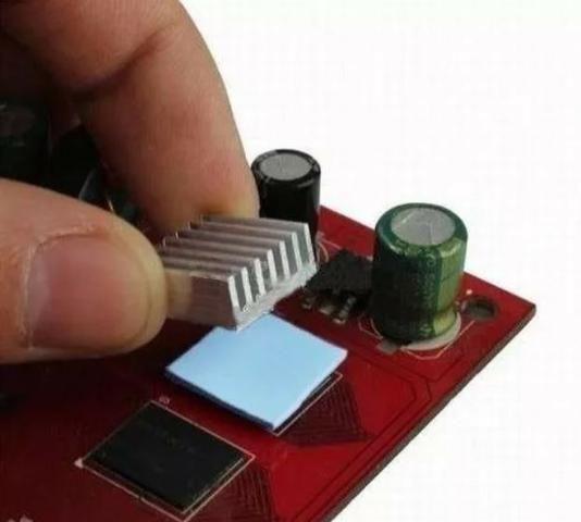 COD-CP232 100x Thermal Pad Termico Dissipador Chipset Memori 10x10x1mm