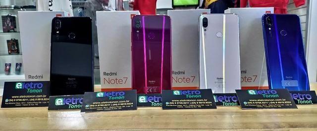 Celular Xiaomi Redmi Note 7 128GB Azul ate 12x sem juros - Foto 4