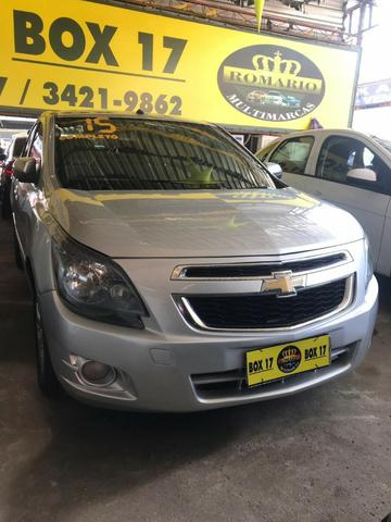 Chevrolet Cobalt 2015 + GNV ltz (mylink, volante multifuncional, automático TOP de linha) - Foto 3