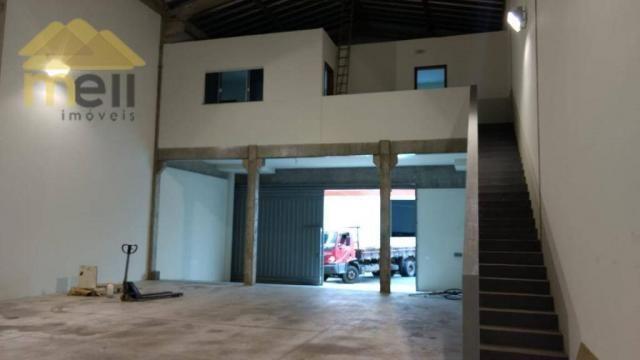 Barracão comercial para locação, Vila Formosa, Presidente Prudente - BA0026. - Foto 3