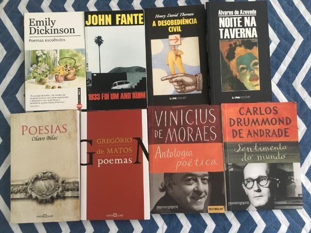 Livros - poesia, contos, romance