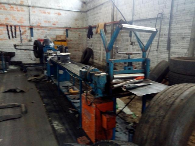 Vendo kit d maquinário para recapagem - Foto 4