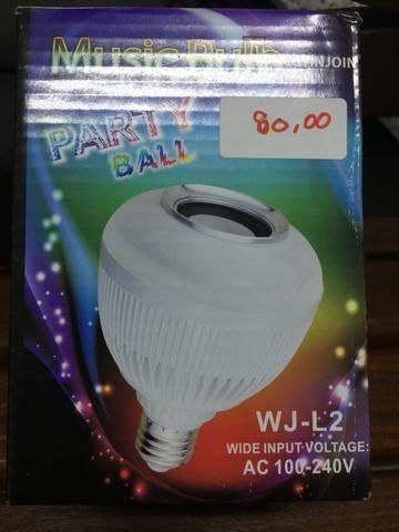 Lampada led muda de com com bluethoth nova na embalagem - Foto 4