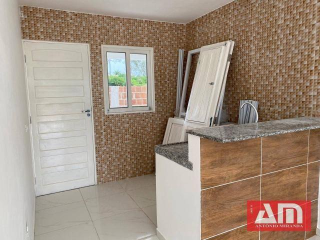 Casa com 2 dormitórios à venda, 56 m² por R$ 145.000,00 - Novo Gravatá - Gravatá/PE - Foto 6