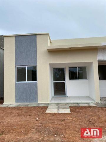 Casa com 2 dormitórios à venda, 56 m² por R$ 145.000,00 - Novo Gravatá - Gravatá/PE - Foto 3