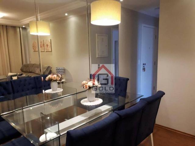 Apartamento com 2 dormitórios à venda, 52 m² por R$ 245.000 - Vila Francisco Matarazzo - S - Foto 4