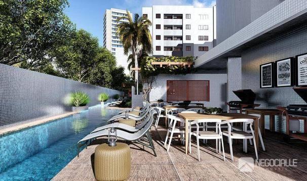 Apartamento com 02 dormitórios com excelente estrutura de lazer no bairro dos Bancários - Foto 2
