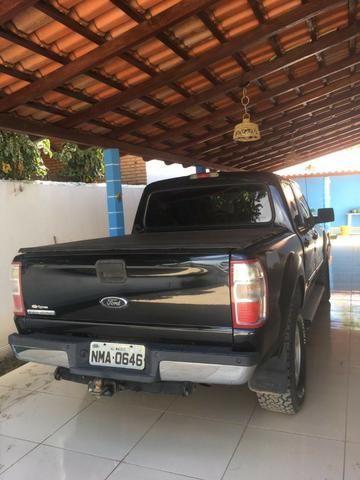 Ford Ranger XLT 2010 Gasolina - Vendo ou Troco - Foto 4