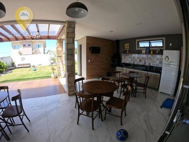 Vendo excelente casa no Condomínio Boulevard Lagoa com 3 quartos e 3 suítes - Foto 6