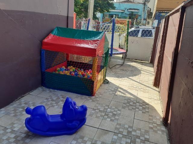 Aluguel de pula pula ,piscina de bolinhas,gangorra e castelinho com escorrega infantil - Foto 3