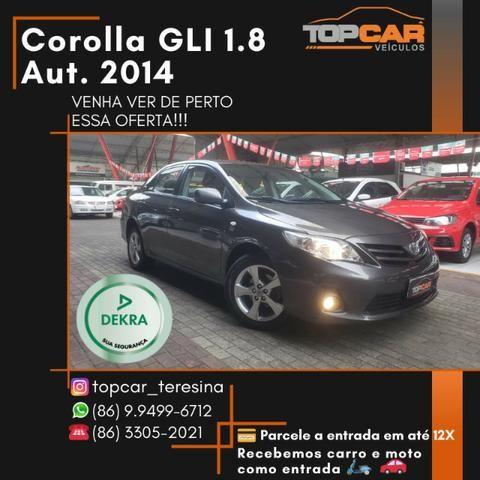 Toyota Corolla GLI 1.8 2014