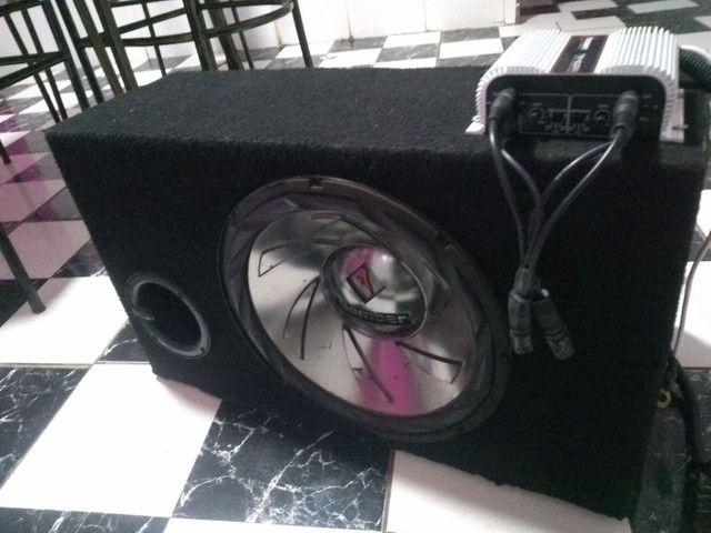 Caixa de som para carro - Foto 2