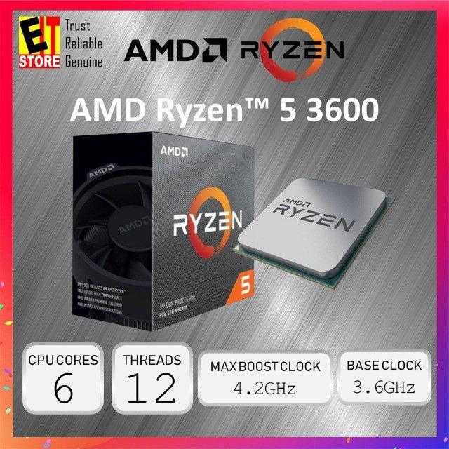 Pc Gamer Ryzen 5 3600, com 16G de RAM , SSD 240GB, Placa Video RX550 2G.  - Foto 4