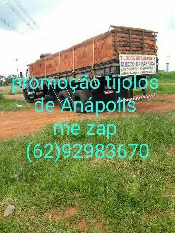 Tijolos de Anápolis  dereto da fábrica  a 6650$$ o milheiro  - Foto 5