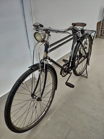 Bicicleta Phillips 1952 toda original - Foto 6
