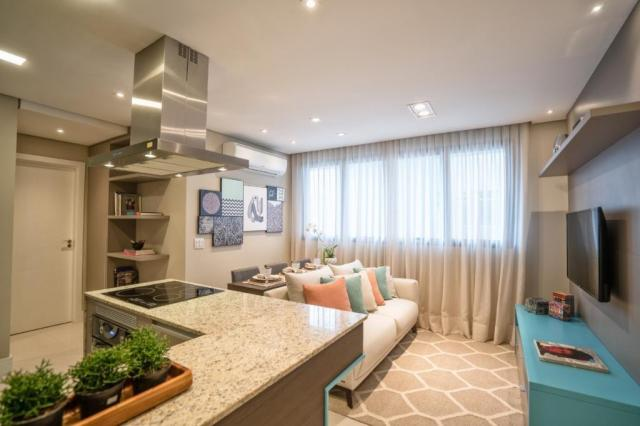 Apartamento à venda com 1 dormitórios em São francisco, Curitiba cod:0127/2020 - Foto 2