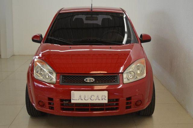 Fiesta Class 1.6 - completo - vermelho - ano 2009 - Foto 6