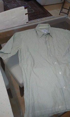 Camisa Aviator manga curta