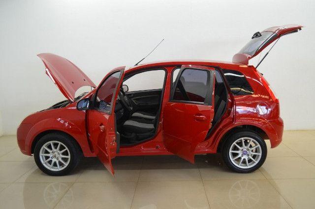 Fiesta Class 1.6 - completo - vermelho - ano 2009 - Foto 4