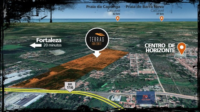 Terras Horizonte - Lotes de 175 m² (7 X 25) $^ - Foto 10