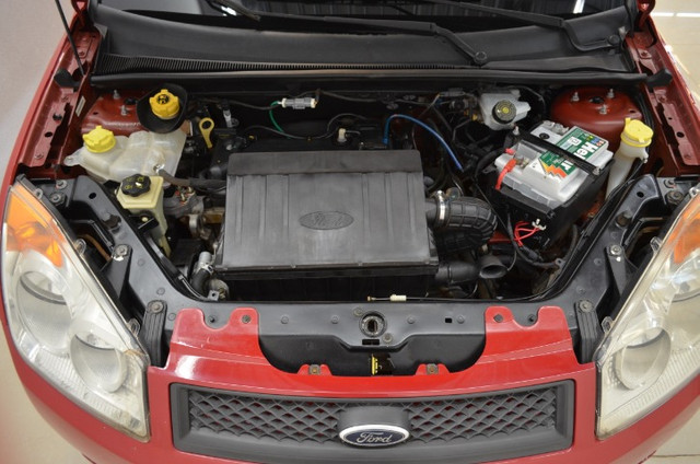 Fiesta Class 1.6 - completo - vermelho - ano 2009 - Foto 8