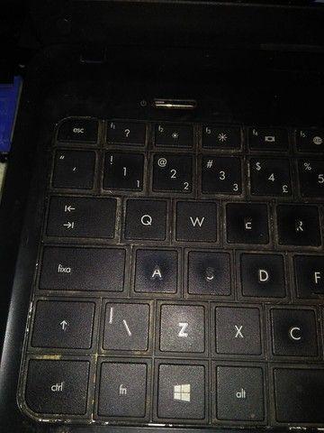 Teclas avulsas do notebook hp 1000 séries teclado unitário letras numeros - Foto 5