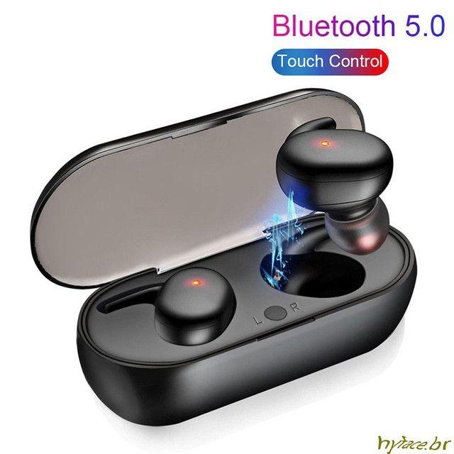 Hyface Mini Fone De Ouvido Intra-Auricular Bluetooth 5.0 De Pareamento Autom Tico - Foto 5