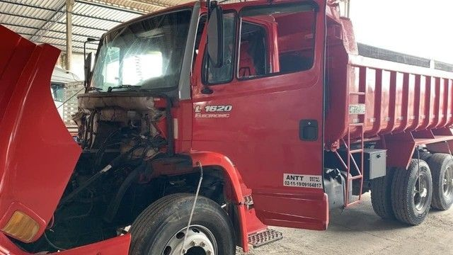 Mercedes L 1620 Truck Caçamba 2009<br><br> - Foto 2