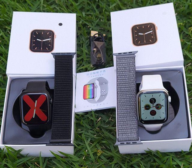Smartwatch IWO 13 Lite(IWO W26+)Séries 6 Tela infinita, c/pulseira extra e película. - Foto 5