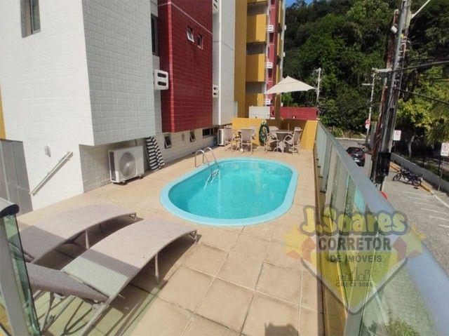 Cabo Branco, Cobertura, pisc  priv, 2 qt, 110m², 480mil, Venda, Apartamento, João Pessoa - Foto 18
