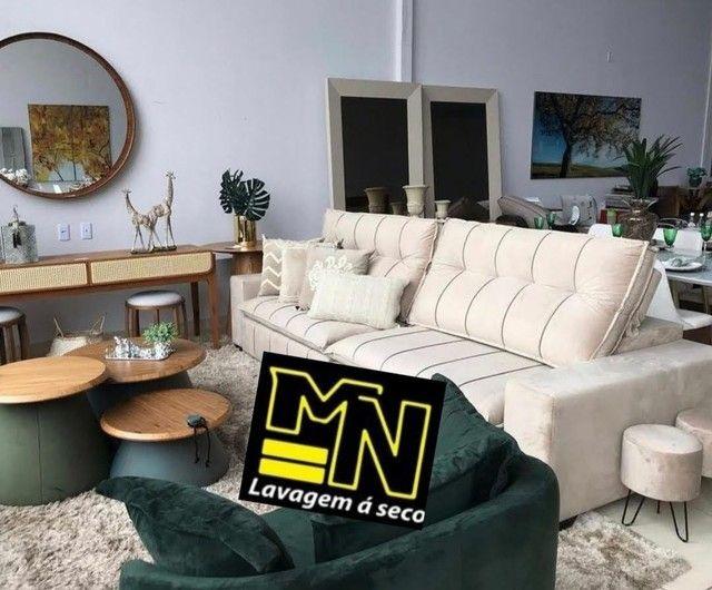 Higienização e lavagem  a seco de sofá em promoção  a partir 79.99