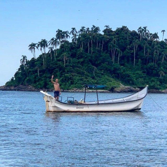 Canoa de fibra - Foto 6