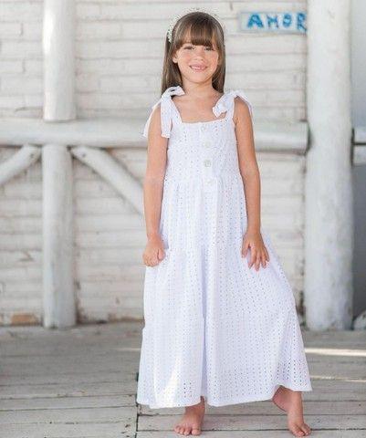 Vestido branco Tal mãe Tal filha (Branco) - Foto 2