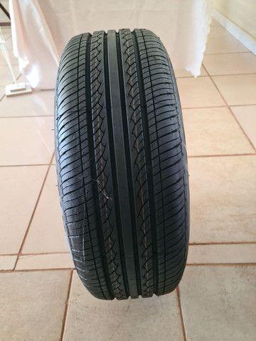 Roda original BMW com pneu novo - Foto 5