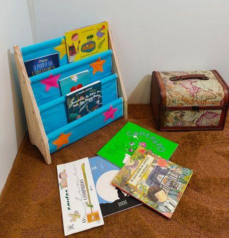 Rack Para Livros Infantil, Standbook Montessoriano - Foto 5