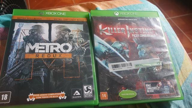 Vendo jogo Xbox one