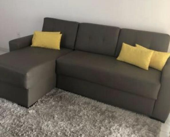 Sofá forrado