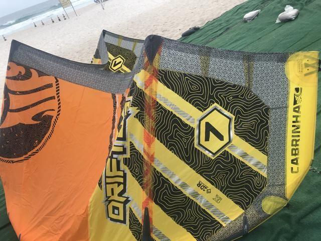 ec2754a6c6 Kite surf cabrinha drifter 7 metros ano 2016