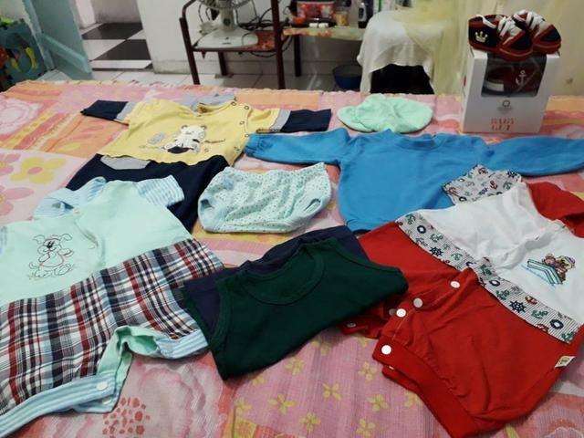 Vendo lote de roupas infantil masculina