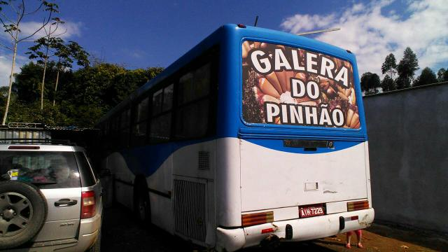 Ônibus pego caminhote barbada - Foto 6