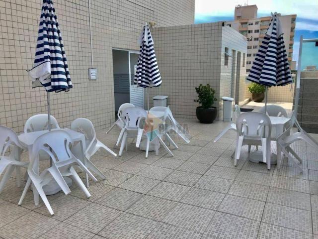 Apartamento para alugar, 82 m² por R$ 2.800,00/mês - Tupi - Praia Grande/SP - Foto 20
