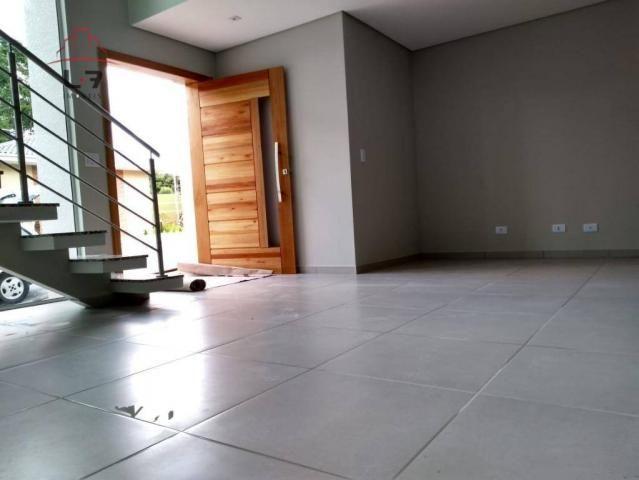 Sobrado com 3 dormitórios à venda, 196 m² por R$ 590.000 - Campo Pequeno - Colombo/PR - Foto 6