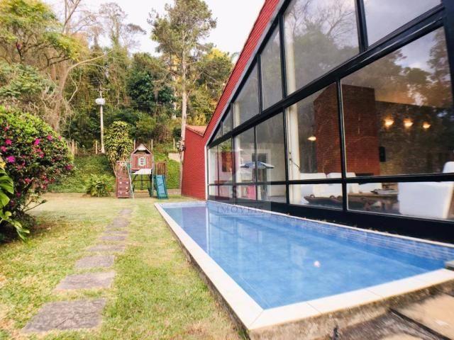 Casa com 4 dormitórios à venda, 345 m² por r$ 850.000,00 - albuquerque - teresópolis/rj - Foto 3