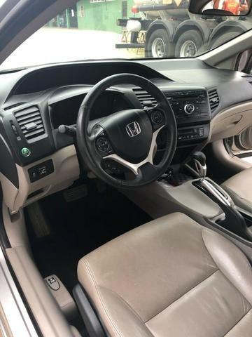 Honda civic impecável leia o anuncio ! - Foto 6
