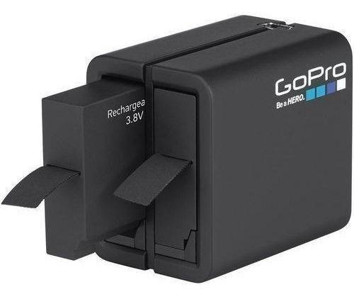 Carregador Dual+bateria P/ Gopro Hero 5/6/7 Black Aadbd-001 - Foto 3