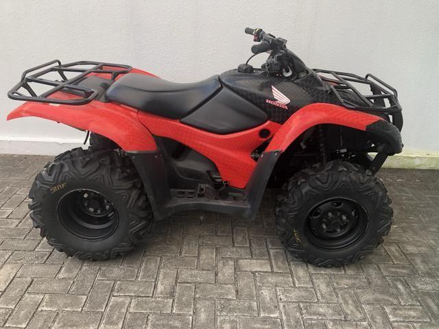 Quadriciculo Honda Fourtrax 420 4x4 2013 - Foto 3