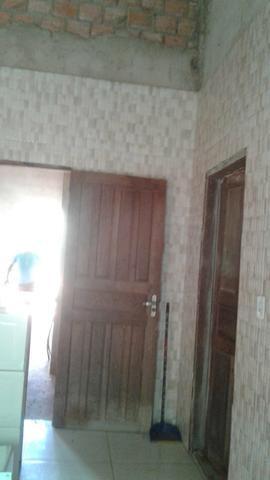 Vendo uma casa na zona leste em fase de acabamento - Foto 2