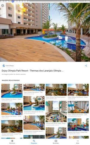 Apto 1 Dormitório - Enjoy - Olímpia Park Resort -Thermas dos Laranjais Olímpia - São Paulo - Foto 7