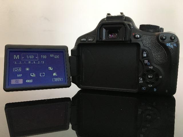Câmera T3I / 600D (só o corpo) - Foto 4